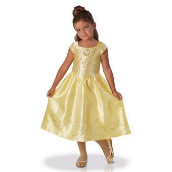 Robe Deguisement Princesse Belle Film 7 8 Ans Fille Costume Disney Officiel Accessoires Circuits Et Vehicules Achat Prix Fnac