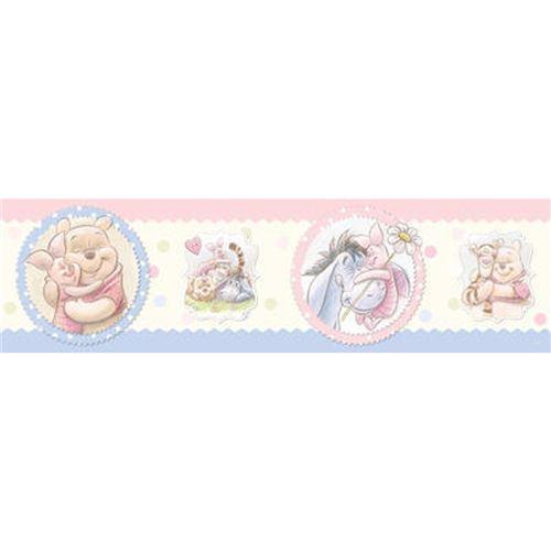 Frise motifs Winnie l'Ourson Disney Gros calins