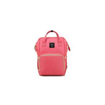 a191b5d1ec Sac à dos de voyage, de couche de bébé multi-fonctionnel, de grande capacité,  pour maman, sac pour soins de bébé - rose - Sacs à dos - Achat & prix | fnac