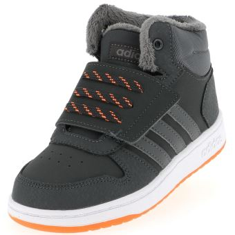 Chaussures scratch Adidas Hoops mid 2 nr baby Noir taille