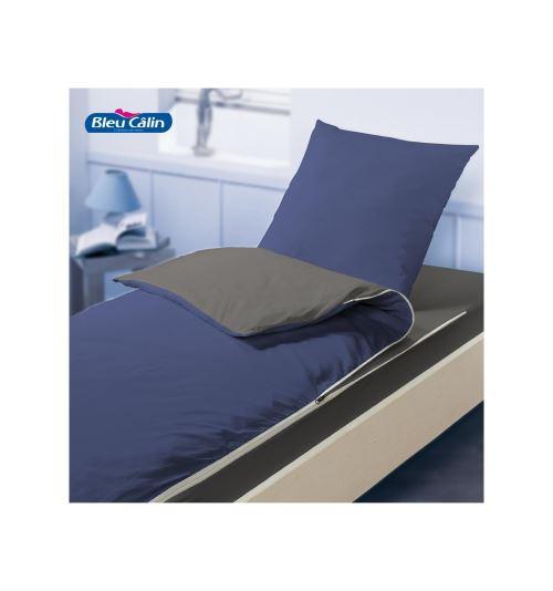 Kit de couchage caradou pour lit 1 place - Bleu