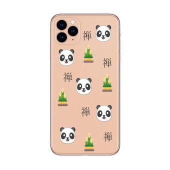 Coque iphone 11 PRO MAX panda zen emojii