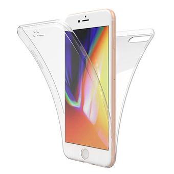 coque iphone 8 plus 360 degre transparente