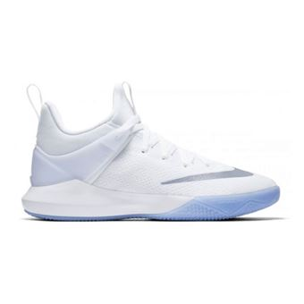 Chaussure de Basketball Nike Zoom shift blanche pour femme ...