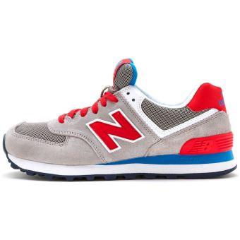 new balance gris bleu rouge