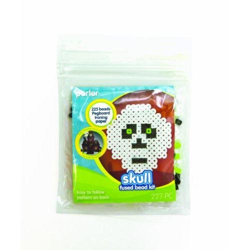 Perler Fused Kit de perles, crâne