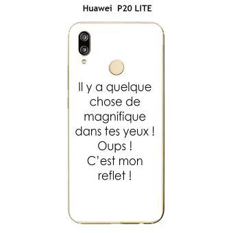 coque huawei p20 lite humour