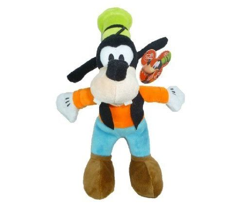Disney Just Play, Pavillon Junior de Mickey Mouse, Peluche dans un sac de fèves Goofy, 9.5 pouces