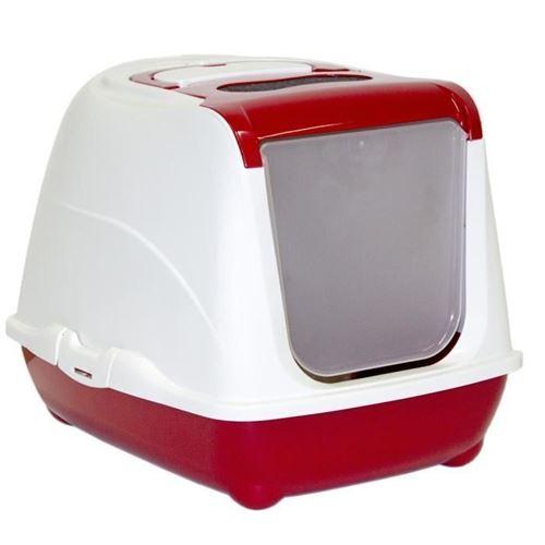 VITAKRAFT Maison de toilette Complete filtre + pelle + porte classique - Pour chat