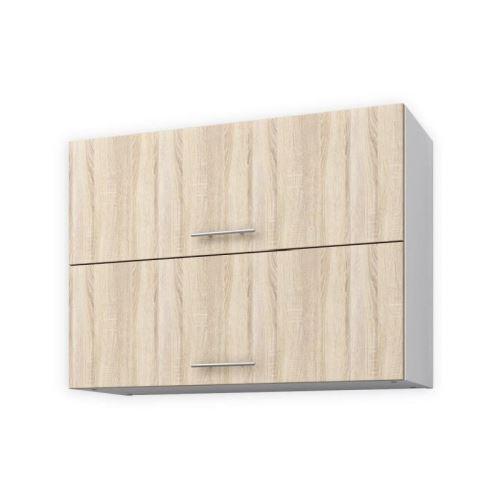 OBI Meuble haut de cuisine L 80 cm - Decor chene clair