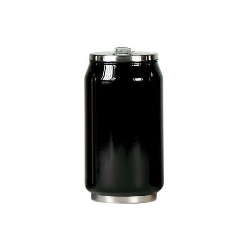 Mug canette isotherme inox 280 ml - Noir