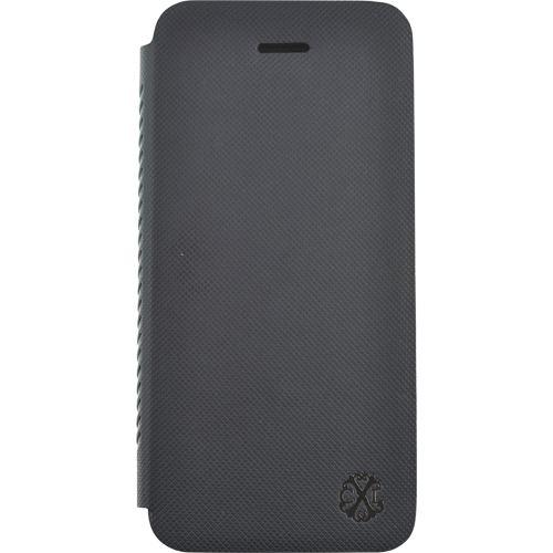 Coque iPhone 5S/SE Christian Lacroix Folio Suiting, Noire