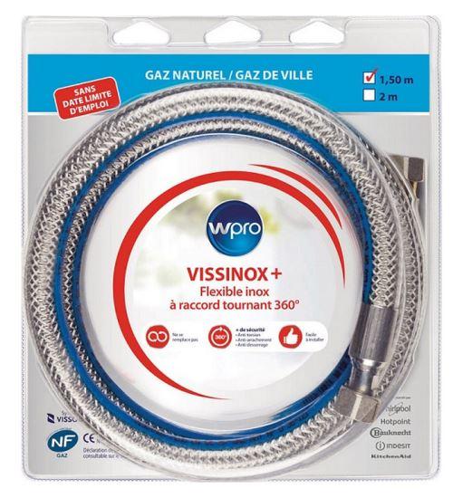 Flexible gaz inox 1.5cm - TNV150 WPRO