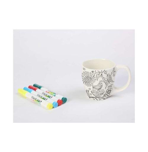 Mug Just Add Colour - 8 x 10 cm - 350 mL - Céramique