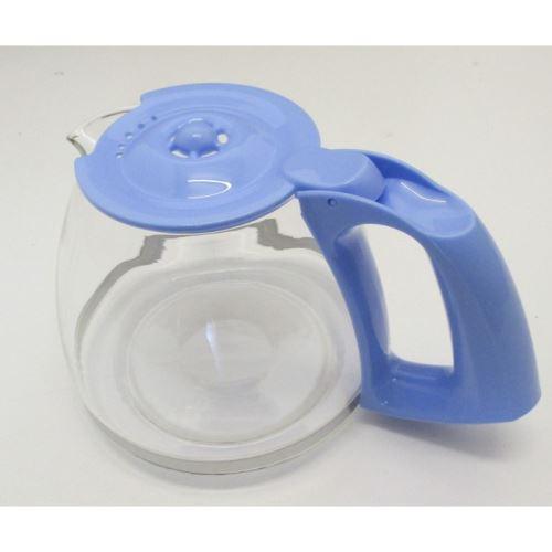 Verseuse+couvercle/bleu pour cafetieres filtre moulinex