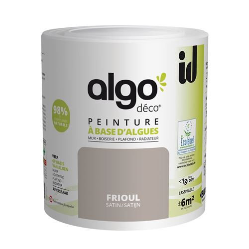 Peinture à Base D'algues Algo Satin Frioul 500ml