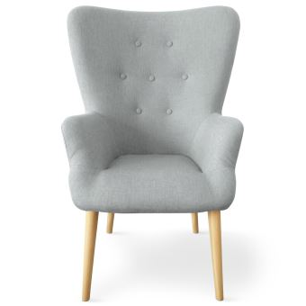 Tissu Gris Achatamp; Cosy Fauteuil Scandinave PrixFnac bf7Yyv6Ig