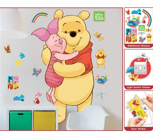 Sticker géant Winnie l'Ourson Disney