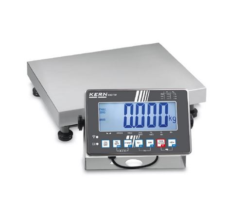 Kern - Balance plate-forme avec protection IP portée max. 30 kg plateau 400 x 300 x 89 mm - IXS30K-3