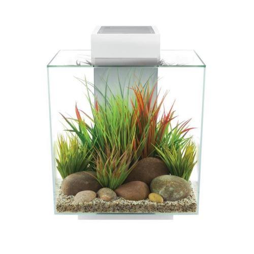 fluval aquarium edge 46 l - blanc brillant