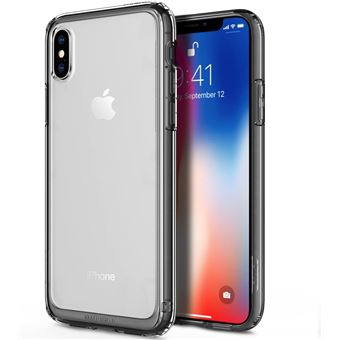 iPhone X Coque iPhone 10 Coque Obliq Naked Shield Cristal Clair avec Coque en TPU resistant aux Chocs pour Apple iPhone X 2017