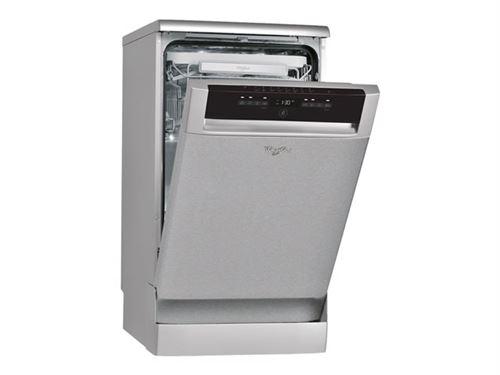 Whirlpool ADP 522 IX - Lave-vaisselle - pose libre - largeur : 45 cm - profondeur : 55 cm - hauteur : 85 cm - inox