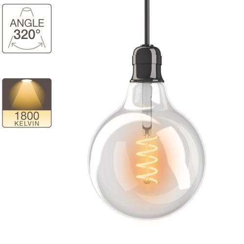 Ampoule LED G125 - culot E27 - vintage