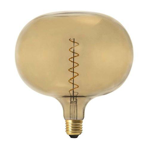 The Home Deco Light - Ampoule bulle LED spirale ambré 22.5 cm
