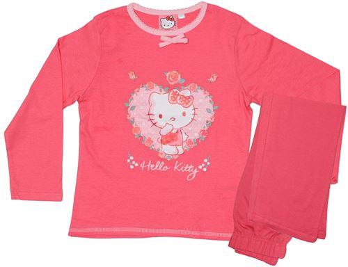 Hello Kitty pyjama en coton rose foncé