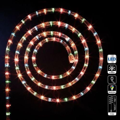 Tube lumineux 10 mètres multicolore