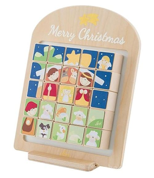 Sevi calendrier de l'Avent Joyeux Noël 35 cm