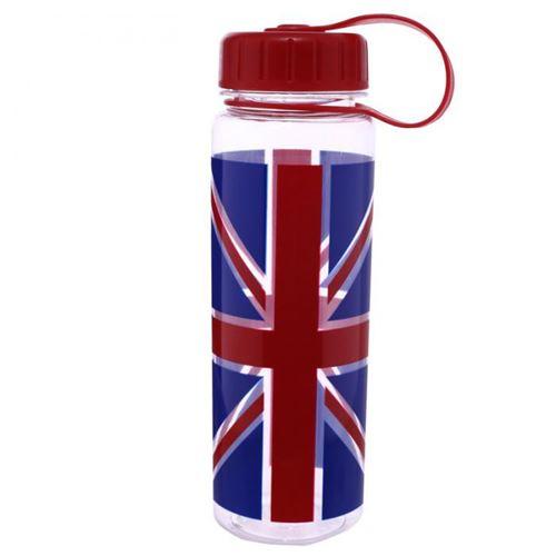 Bouteille d'eau de 500ml - Drapeau britannique