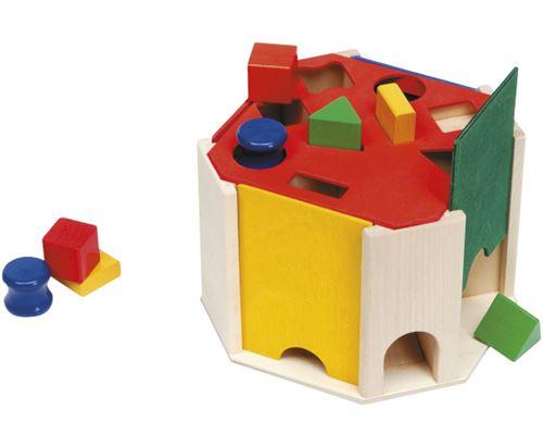 Selecta Spielzeug matériau de moulage junior 20 cm bois naturel 9 pièces