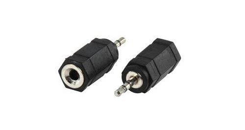 Valueline AC-018 Adapter Plug 2.5 mm Stereo Plug - 3.5 mm Stereo Kontra Plug