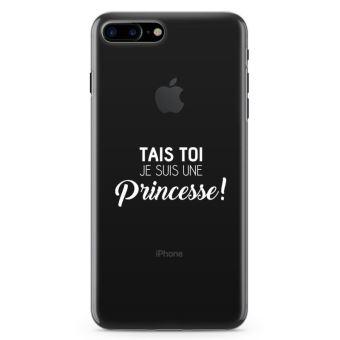 coque iphone 8 plus je suis une princesse