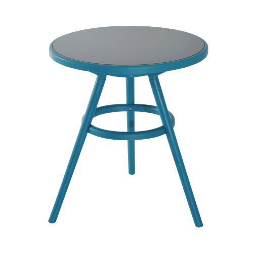 Ensemble design de jardin style néo-rétro 2 chaises et table ...