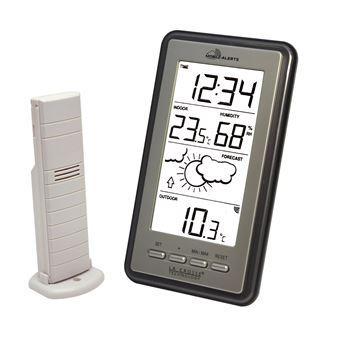 La Crosse Technology - WS9130 Station météo avec possibilité de connexion Mobile Alerts - Gris