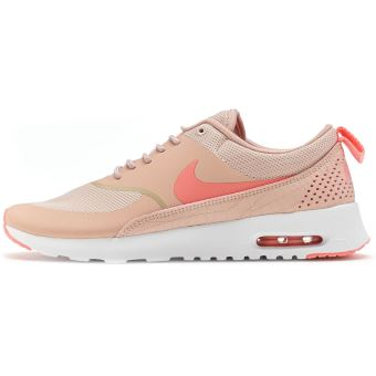 cheap for discount cb0f7 d42e3 ... new style nike air max thea femmes formateurs en rose oxford bright  melon 599409 610 chaussures