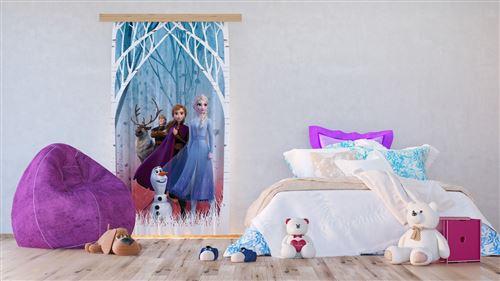 Voilage - Disney La Reine des Neiges 2 - modèle dessin 140 cm x 245 cm