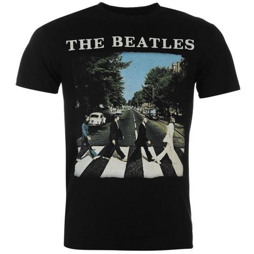 T Shirt Officiel Collector Homme The Beatles Abbey Road