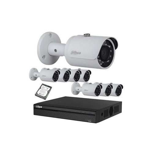 DAHUA Kit vidéo surveillance hd cvi caméra 1080p
