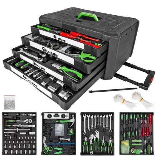 TecTake Caisse à outils 899 pièces