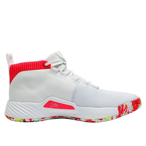 Chaussure de Basketball adidas Dame 5 All Skate Blanc pour
