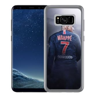 Coque pour Samsung Galaxy S8 Plus football france mbappe dos