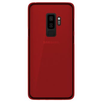coque samsung s9 silicone rouge