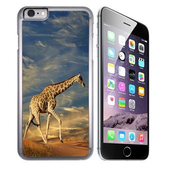 coque iphone 7 silicone girafe