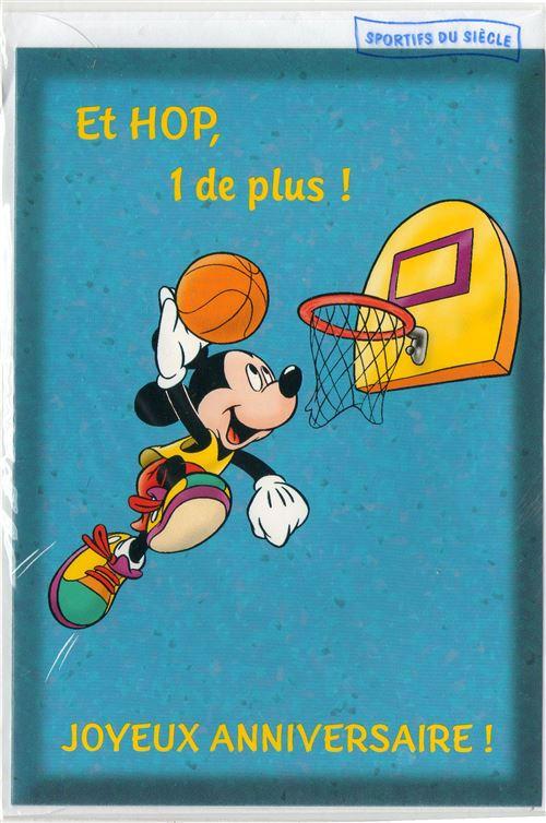 Carte Anniversaire Mickey.Carte D Anniversaire Mickey 34