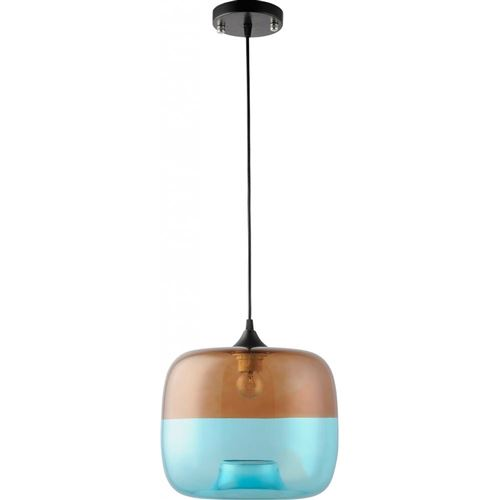 Lampe Suspension Coffee Blue - Verre