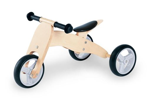 Tricycle en bois Charlie Naturel