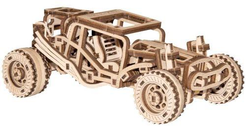 Wooden City kit de construction de maquette Buggy 15 cm bois naturel 137-part